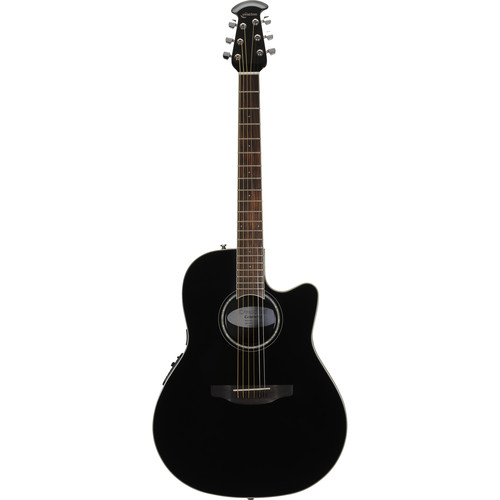 Ovation Celebrity Standard Series CS24 Acoustic/Electric Guitar (Black)