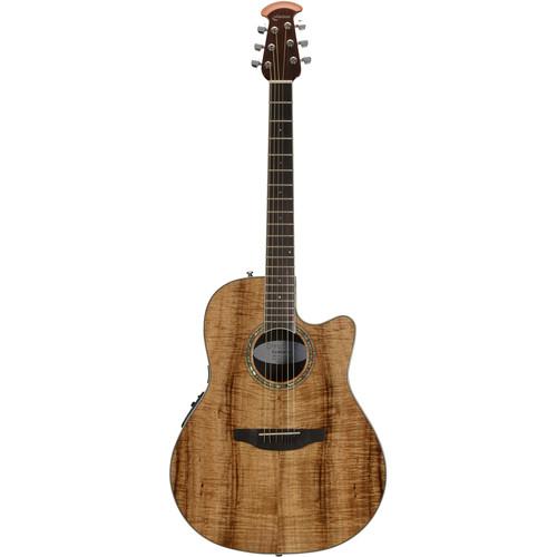 Ovation CS24P Celebrity Standard Plus Series Acoustic/Electric Guitar (Figured Koa)