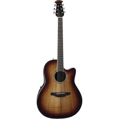 Ovation Celebrity Plus Super-Shallow CS28P Acoustic/Electric Guitar (Koa Burst)