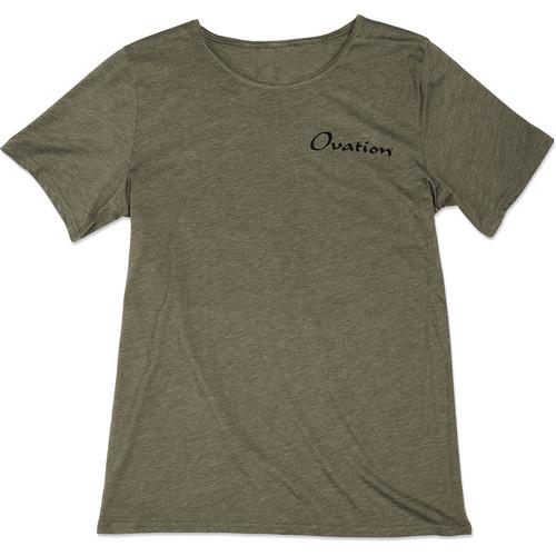 Ovation Logo T-Shirt Draftsman - S