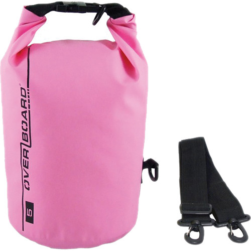 OverBoard Waterproof Dry Tube Bag, (5L, Pink)