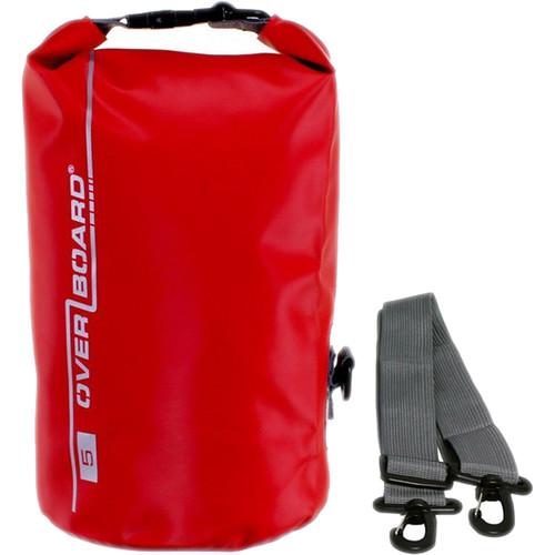 OverBoard Waterproof Dry Tube Bag, (5L, Red)