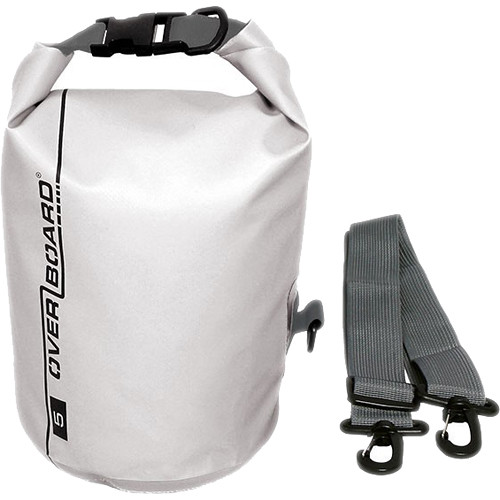OverBoard Waterproof Dry Tube Bag, (5L, White)