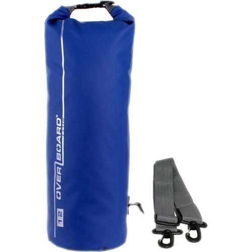 OverBoard Waterproof Dry Tube Bag, 12 Liter Blue