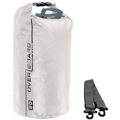 OverBoard Waterproof Dry Tube Bag (20L, White)