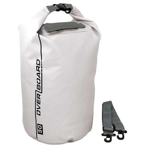 OverBoard Waterproof Dry Tube Bag - 30 Liter (White)