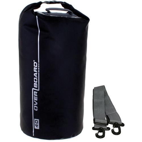 OverBoard Waterproof Dry Tube Bag (Black, 40L)