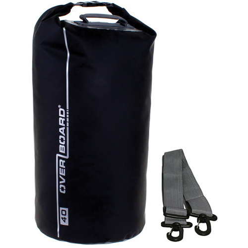 OverBoard Waterproof Dry Tube Bag (Black, 40L)