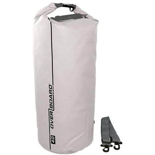 OverBoard Waterproof Dry Tube Bag (White, 40L)