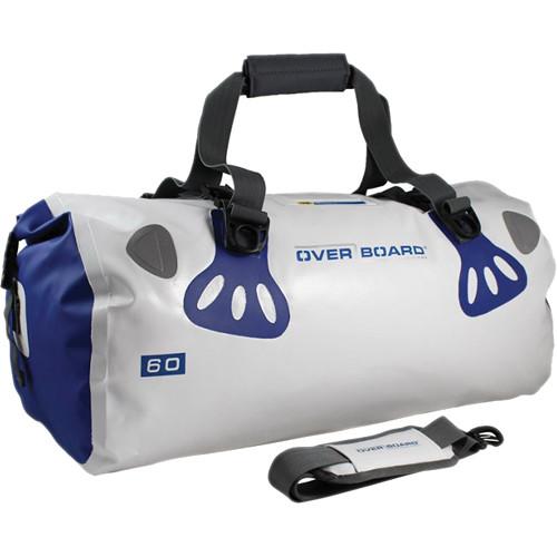 OverBoard Waterproof Boat Master Duffel Bag (White, 60L)