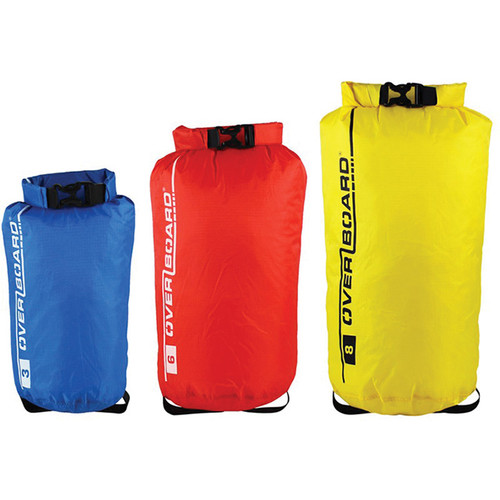 OverBoard Dry Bag Multi-Pack (3L, 6L, 8L)