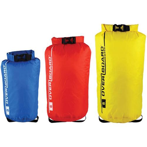 OverBoard Dry Bag Multi-Pack Divider Set (3L, 6L, 8L, Assorted Colors)