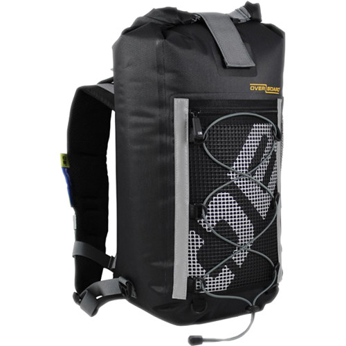 OverBoard Ultra-Light Pro-Sports Waterproof Backpack (Black, 20L)