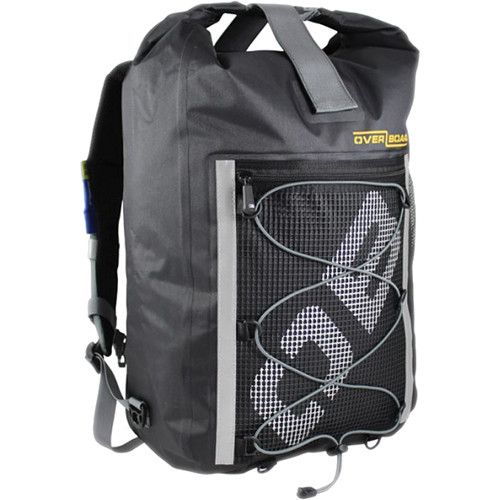OverBoard Ultra-Light Pro-Sports Waterproof Backpack (Black, 30L)