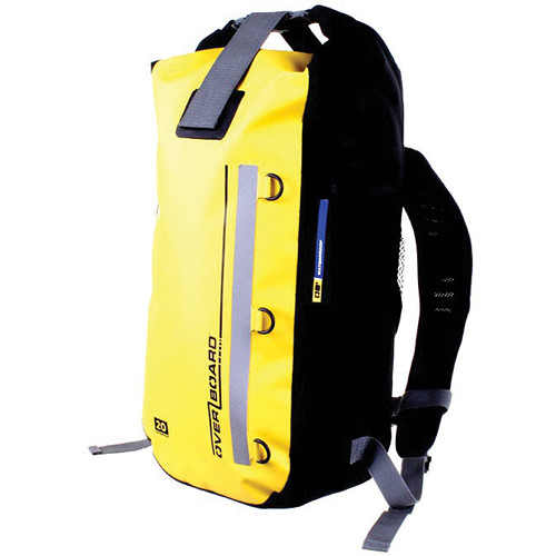 OverBoard Classic Waterproof Backpack (20 Liters, Yellow)