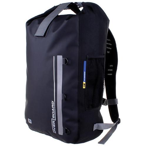 OverBoard Classic Waterproof Backpack (30 Liters, Black)