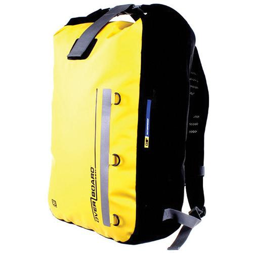 OverBoard Classic Waterproof Backpack (30 Liters, Yellow)