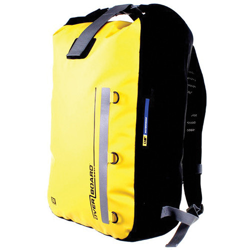 OverBoard Classic Waterproof Backpack (30 Liters, Yellow)