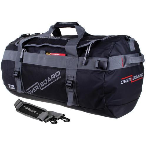 OverBoard Adventure Duffel Bag (Black, 60L)