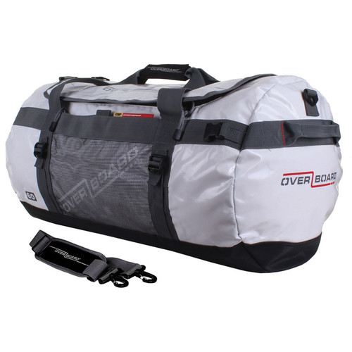OverBoard Adventure Duffel Bag (White, 60L)