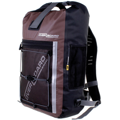 OverBoard Pro-Sports Waterproof Backpack (30L, Brown)