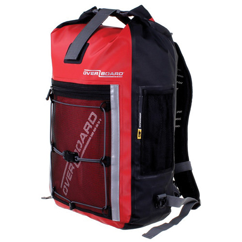 OverBoard Pro-Sports Waterproof Backpack (30L, Red)