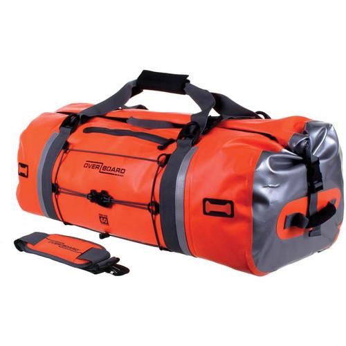 OverBoard Pro-Vis Waterproof Duffel Bag (60L, High Visibility Orange)