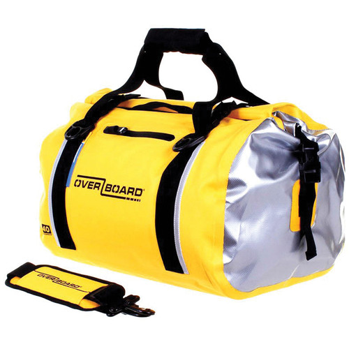 OverBoard Classic Waterproof Duffel Bag (40L, Yellow)