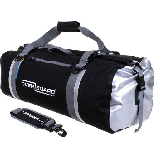 OverBoard Classic Waterproof Duffel Bag (60L, Black)