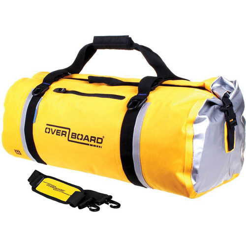 OverBoard Classic Waterproof Duffel Bag (60L, Yellow)