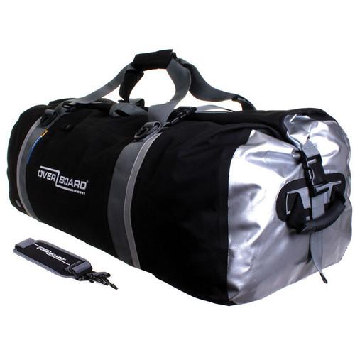 OverBoard Classic Waterproof Duffel Bag (130L, Black)