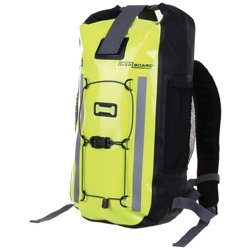 OverBoard Pro-Vis Waterproof Backpack (20L, High Visibility Yellow)