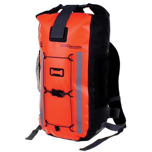 OverBoard Pro-Vis Waterproof Backpack (20L, High Visibility Orange)