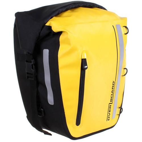 OverBoard Classic Waterproof Bike Pannier 17L (Yellow)