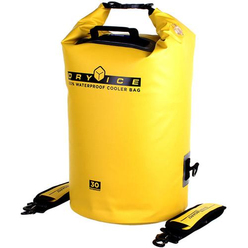 OverBoard Waterproof Dry Ice Cooler Bag (30-Liter, Yellow)