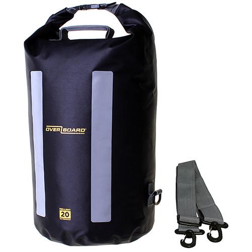 OverBoard Pro-Light Dry Tube Bag (20-Liters, Black)