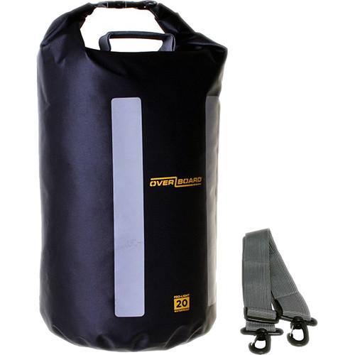 OverBoard Pro-Light Dry Tube Bag 20L (Black)