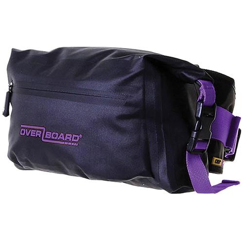 OverBoard Pro-Light Waterproof Waist Pack 4L (Purple)