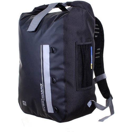 OverBoard Classic Waterproof Backpack (45-Liter, Black)