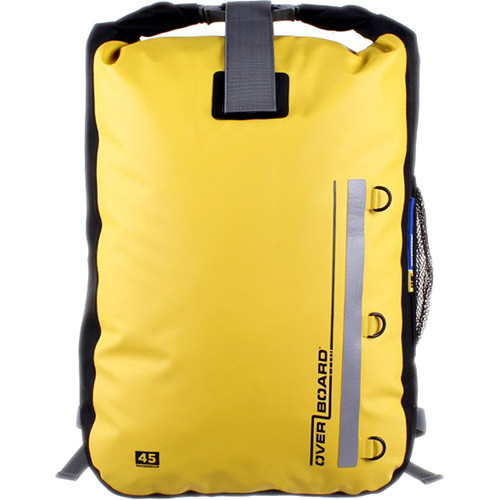 OverBoard Classic Waterproof Backpack (45-Liter, Yellow)