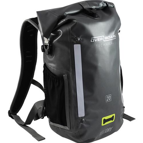 OverBoard Velodry Waterproof Backpack (Gray, 20L)
