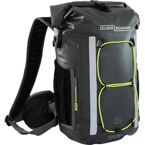OverBoard Trekdry Waterproof Backpack (Gray, 20L)