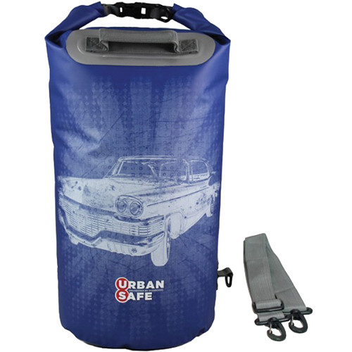 OverBoard Urban Safe Dry Tube (20L, Blue, Chevy Print)