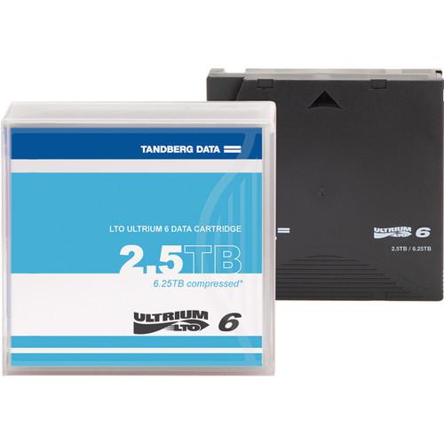 Overland LTO-6 2.5TB Data Cartridge (Unlabeled)