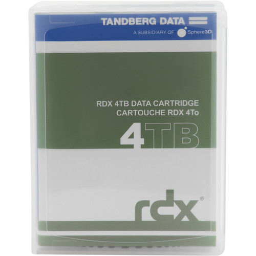 Overland Tandberg RDX 4TB Cartridge (Single)