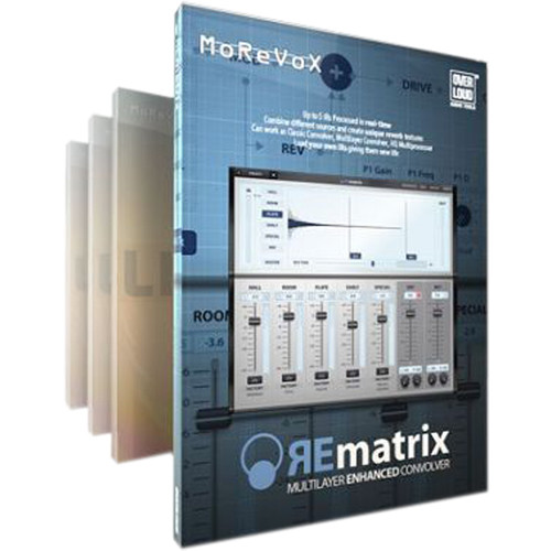 Overloud REmatrix Complete Bundle - Reverb Plug-In and Expansion Libraries (Download)