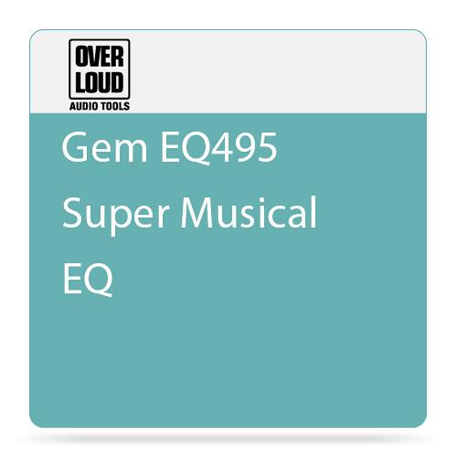 Overloud Gem EQ495 Super Musical EQ - Parametric Equalizer Plug-In (Download)