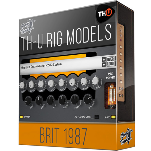 Overloud Choptones Brit1987 - Rig Expansion Library for TH-U (Download)