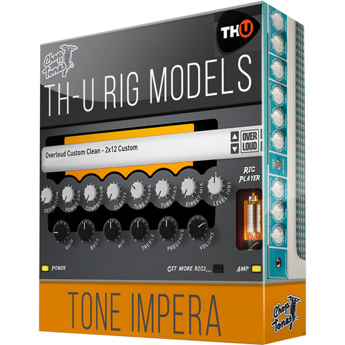 Overloud Choptones Tone Impera - Rig Library for TH-U