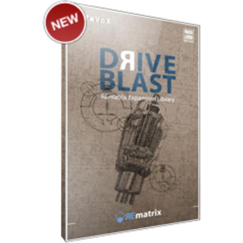 Overloud Drive Blast - Expansion Library for REmatrix Convolution Reverb (Download)